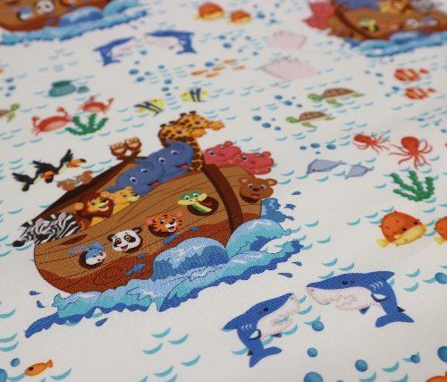 detalle El arca de Noe fondo blanco Punt a punt®