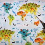 Mapamundi animales - Punt a punt®