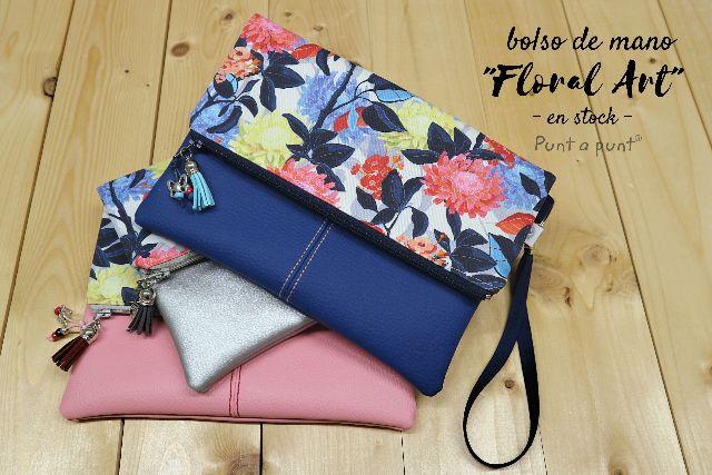 Bolsos de mano «Floral Art» – surtido en stock