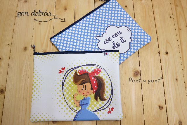Fundas carpeta para A4 y A5 «Pepetta, We Can Do It»