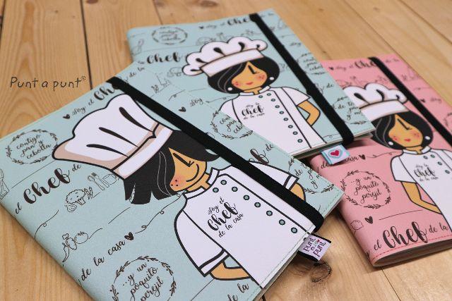 Funda cuaderno «Chef» – con libreta