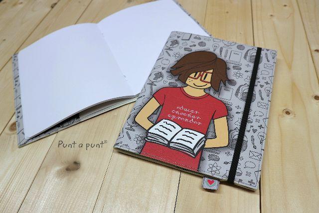 Funda cuaderno «Nicco Profesor» – con libreta