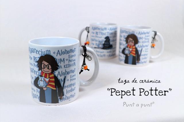 Taza de cerámica Pepet Potter – Punt a punt®