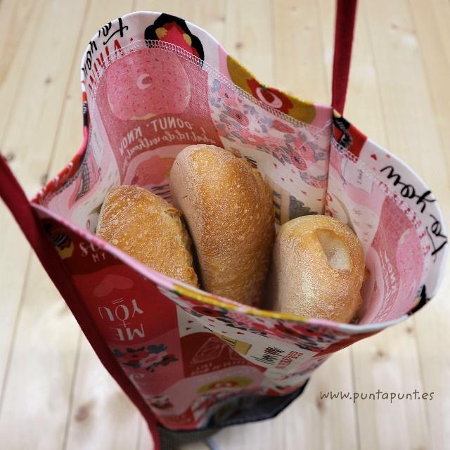 Bolsa para el pan plegable – surtido en stock