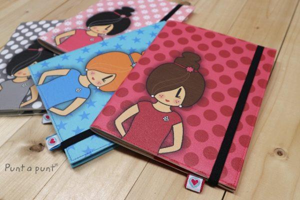 Funda cuaderno «Pepetta Colores» – con libreta