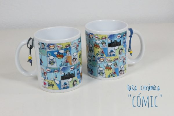 Taza de cerámica «Comic» – Punt a punt®