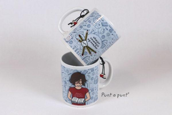 Taza cerámica «Nicco Profesor» – Punt a punt®