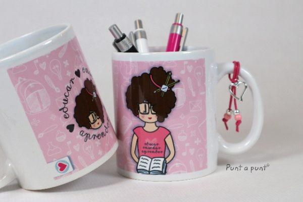 Taza cerámica «Nicca Profesora» – Punt a punt®