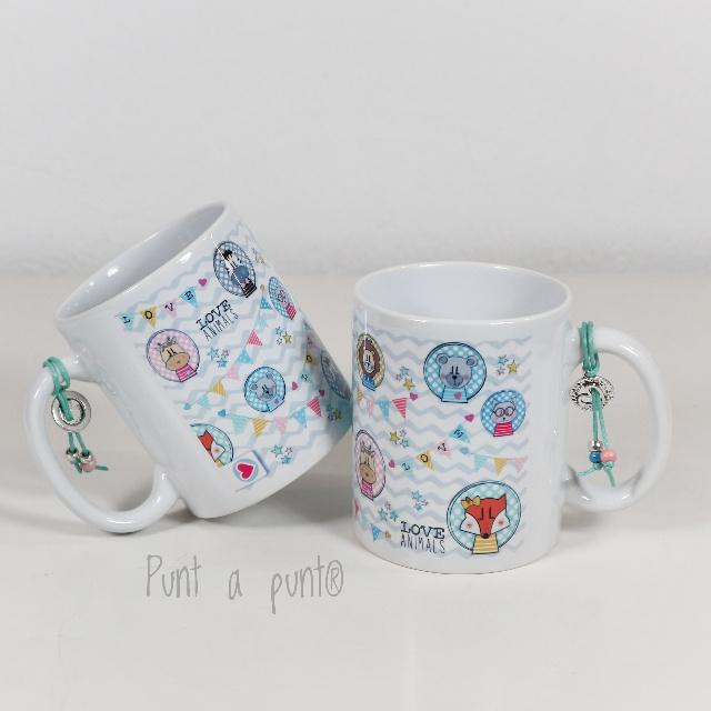 taza de ceramica love animals punt a punt 01
