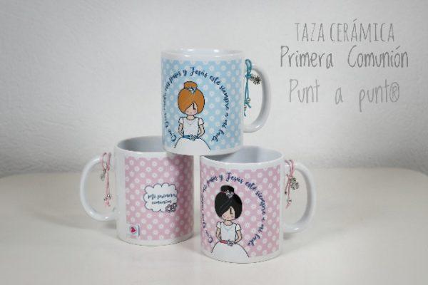 Tazas de cerámica «Primera Comunión» – Punt a punt®