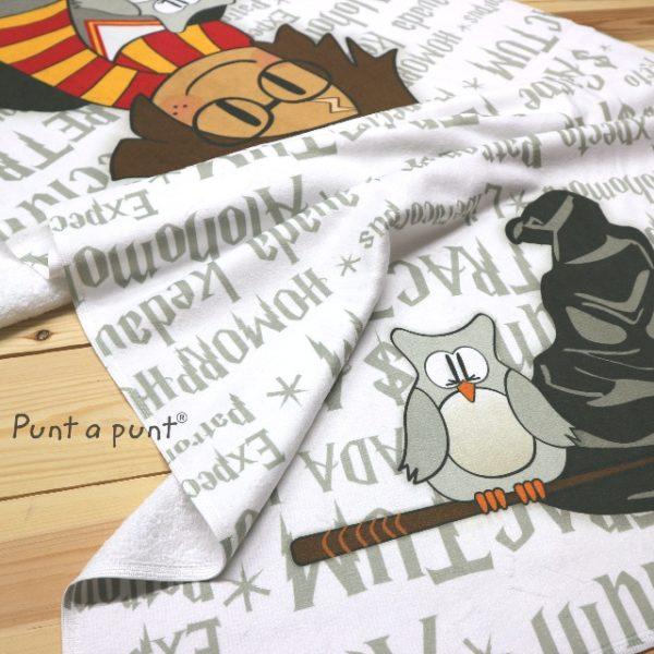 Toalla para playa «Pepet Potter»- Punt a punt®