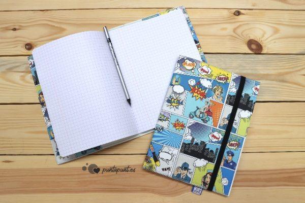 Funda cuaderno «Comic» – con libreta